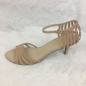 EUC Seychelles NudeSong and Dance Kitten Heels